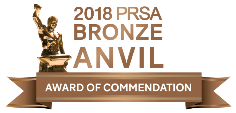 2018 PRSA Bronze Award of Commendation