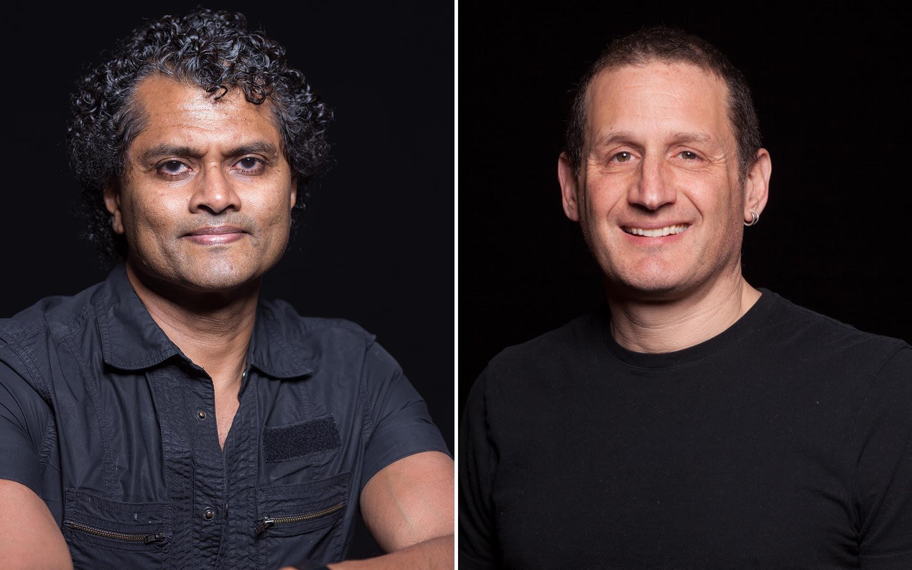 Partha Mitra and Josh Dubau