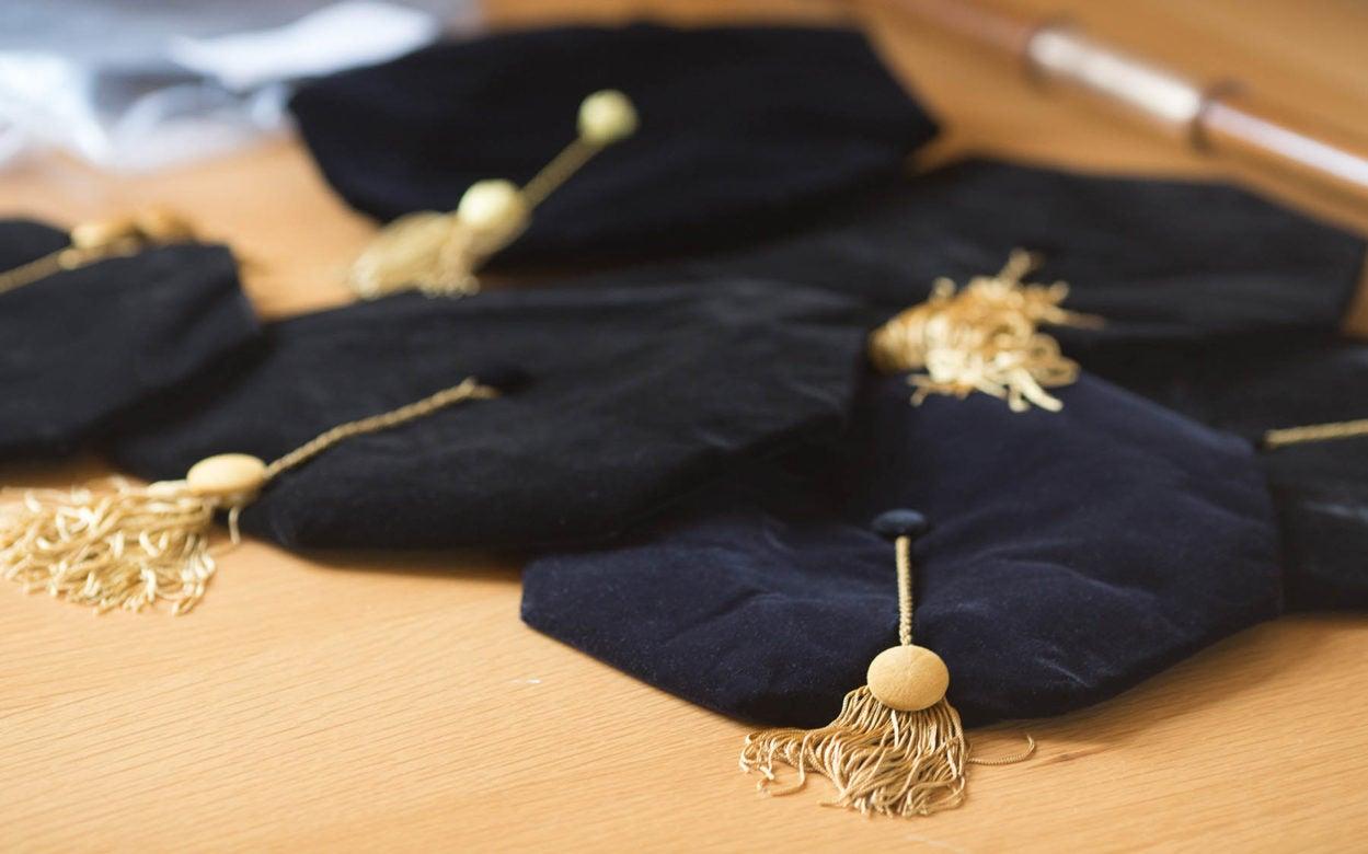 WSBS Graduation cap tassel