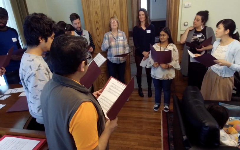 Building a song: A look at CSHL's Choir