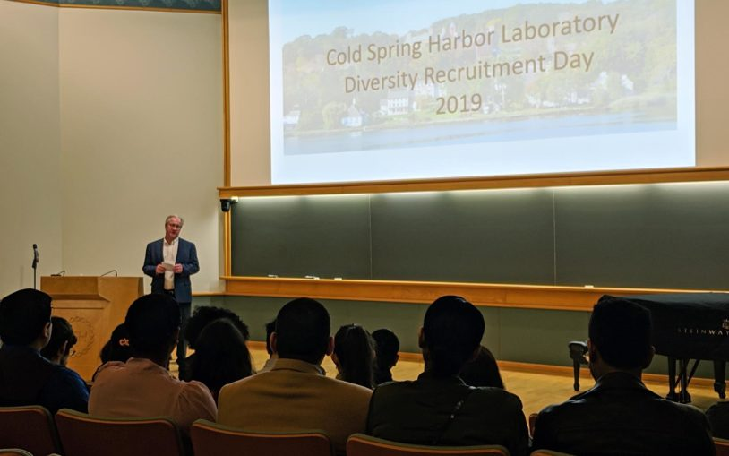 Recruiting diversity—a day at a time