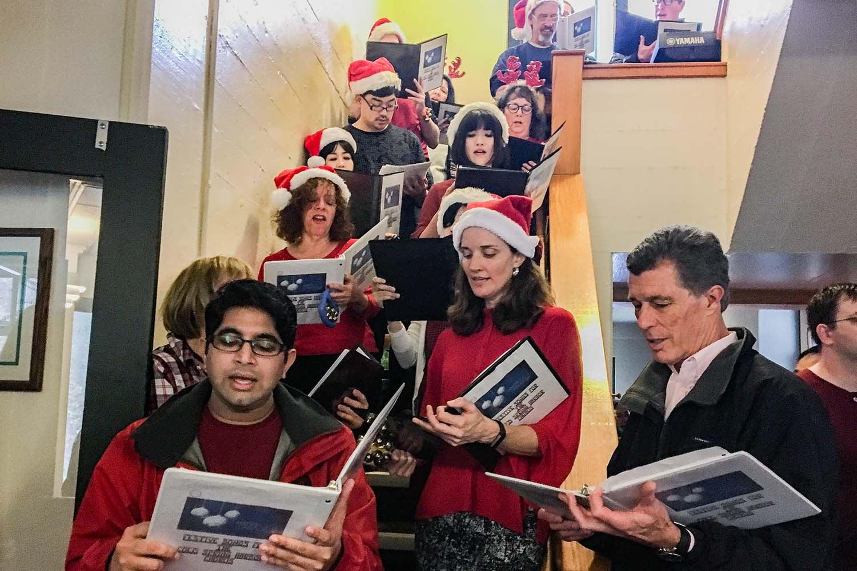 CSHL Choir holiday party