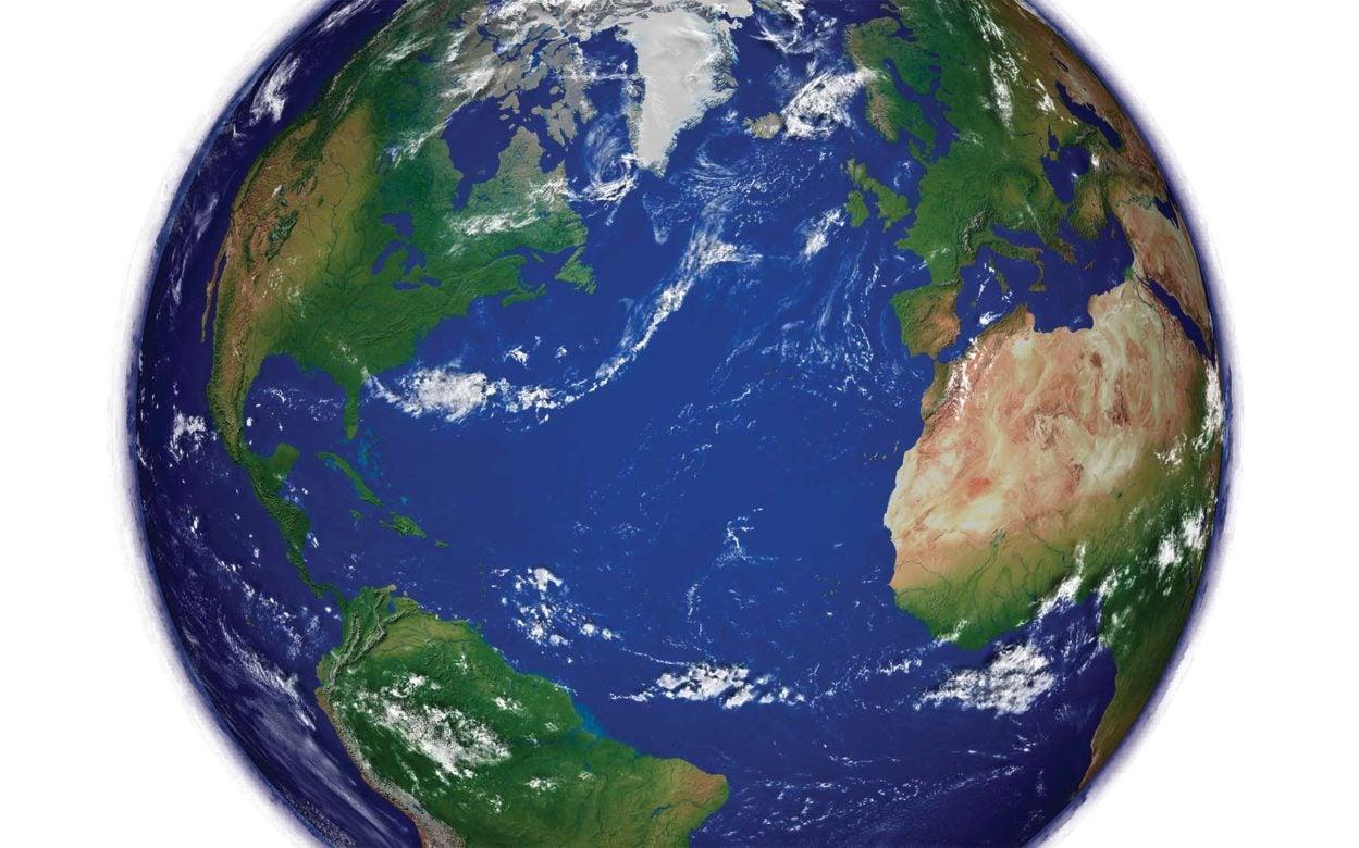northern hemisphere planet earth