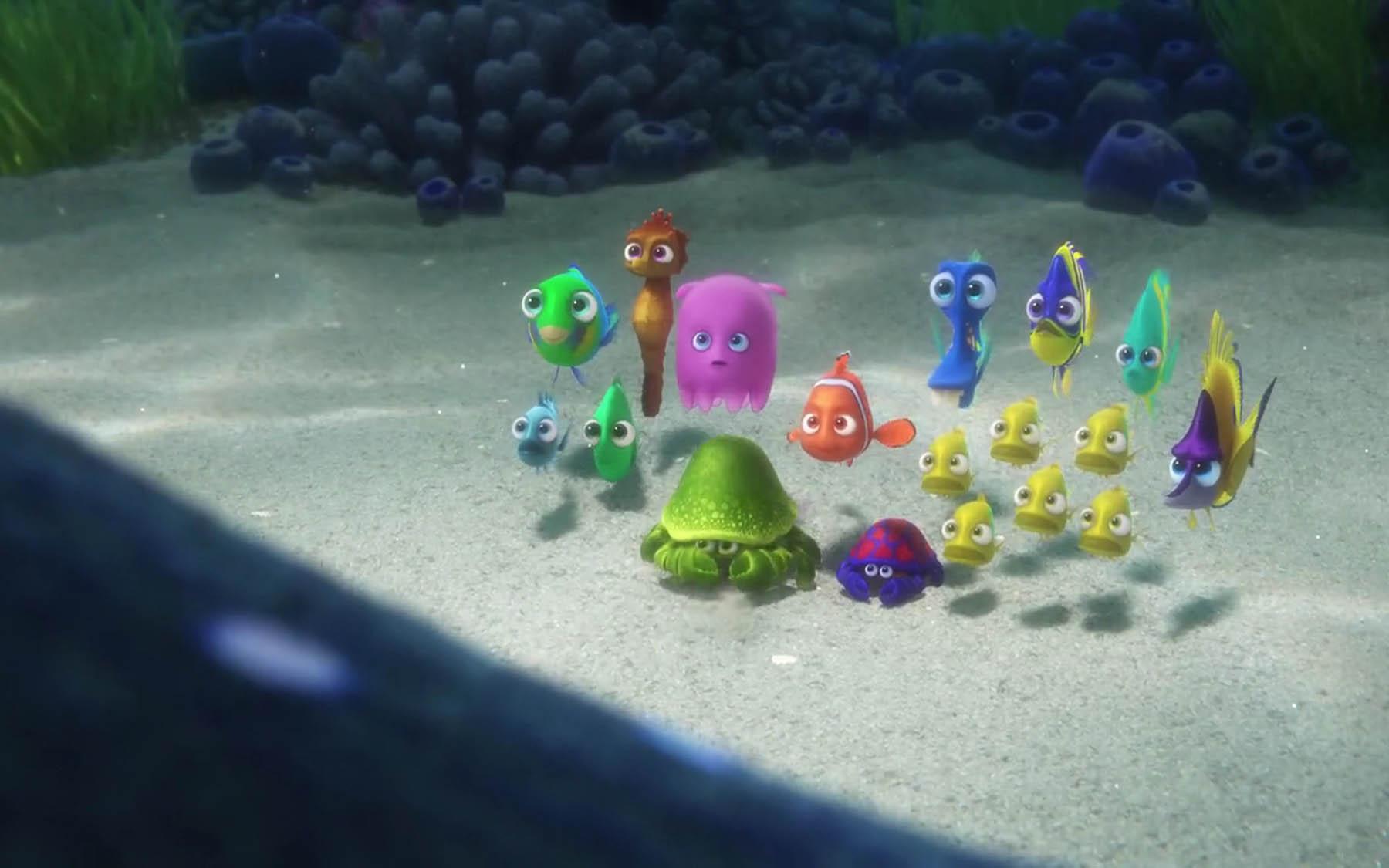 Finding Dory still - Pixar