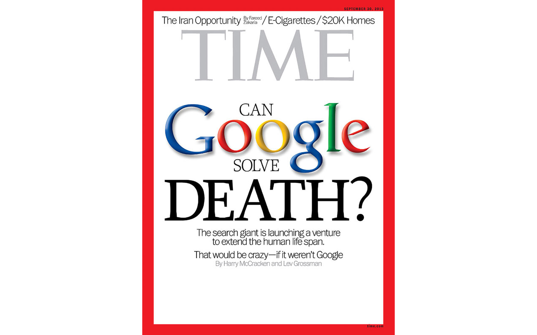Time Magazine Google