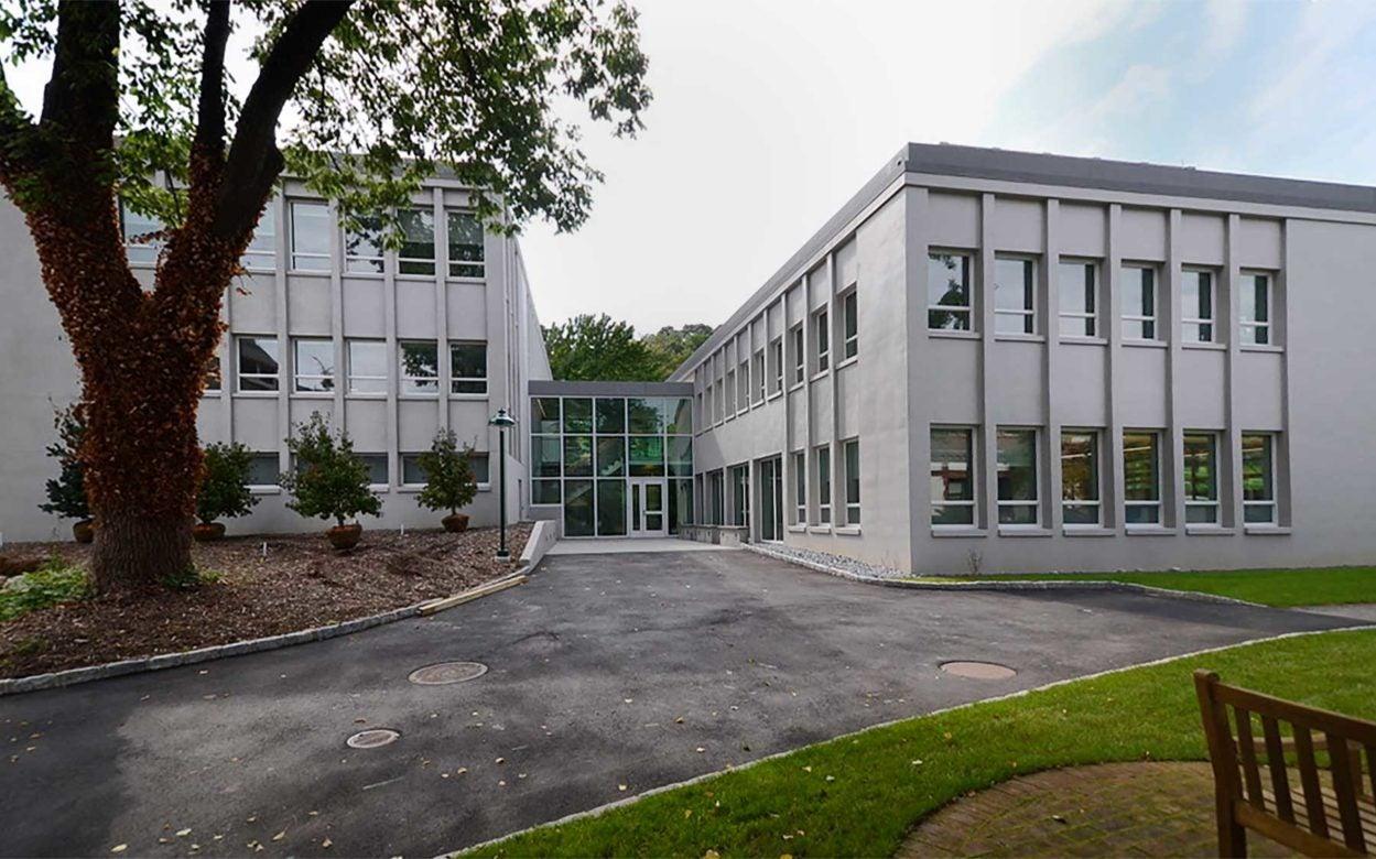 CSHL Demerec building rear view