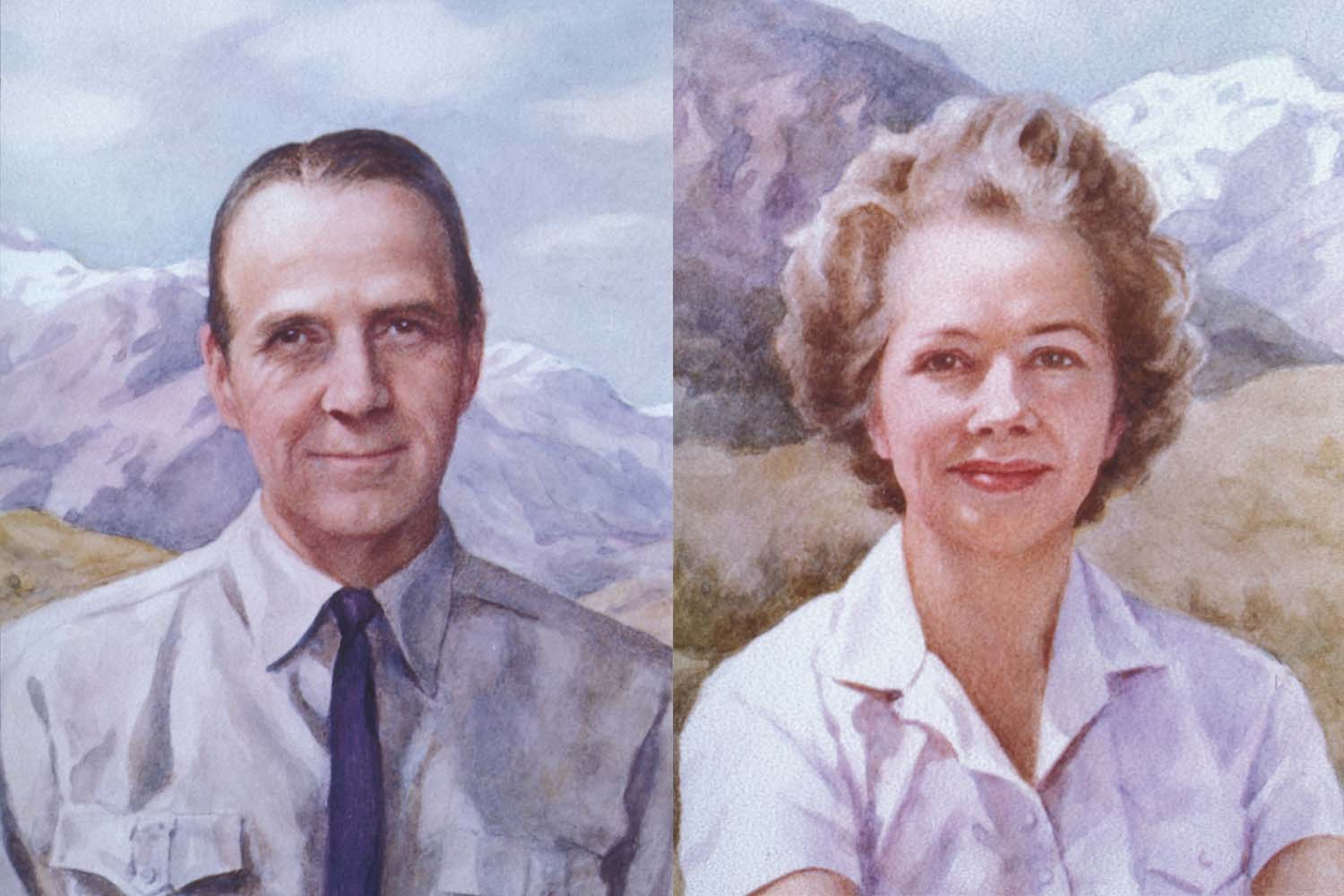 Charles and Marie Robertson