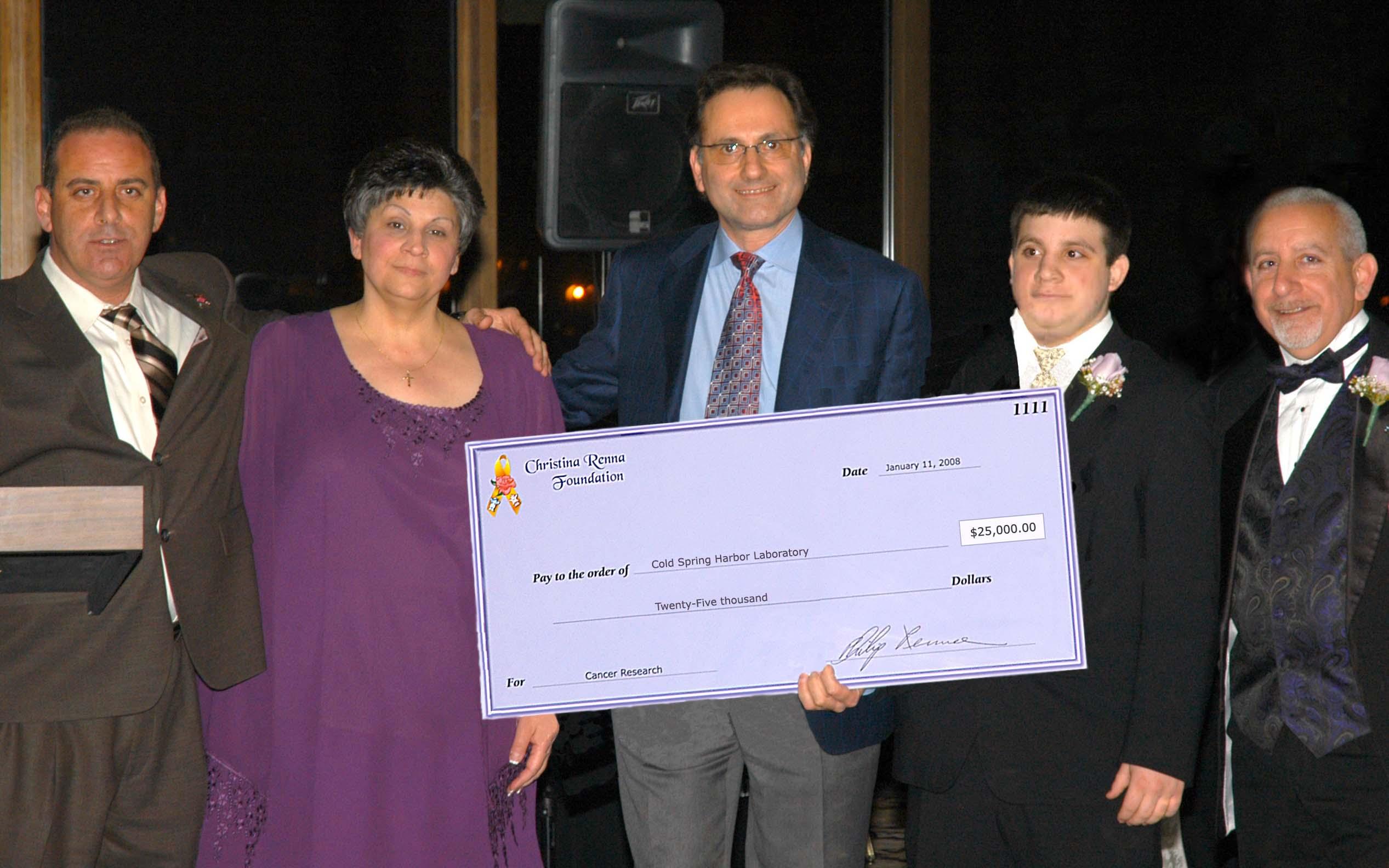 Christina Renna Foundation 2008