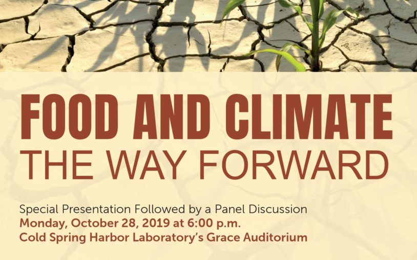 Public Lecture: Food and Climate - The Way Forward