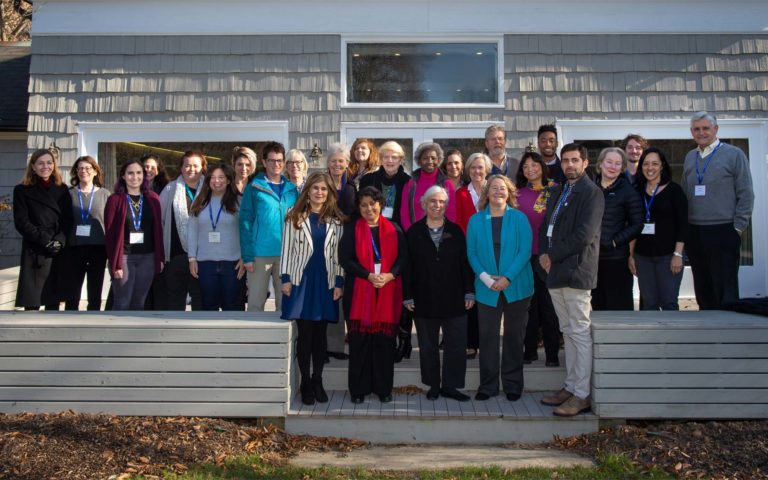 photo of attendees at a December 2018 CSHL Banbury meeting where experts discussed Increasing Gender Diversity in the Biosciences