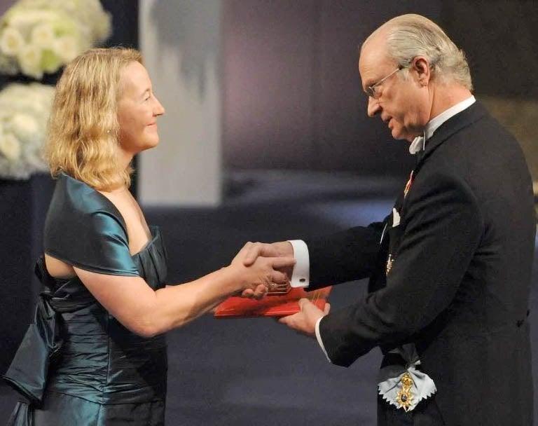 Carol Grieder Nobel Prize 2009
