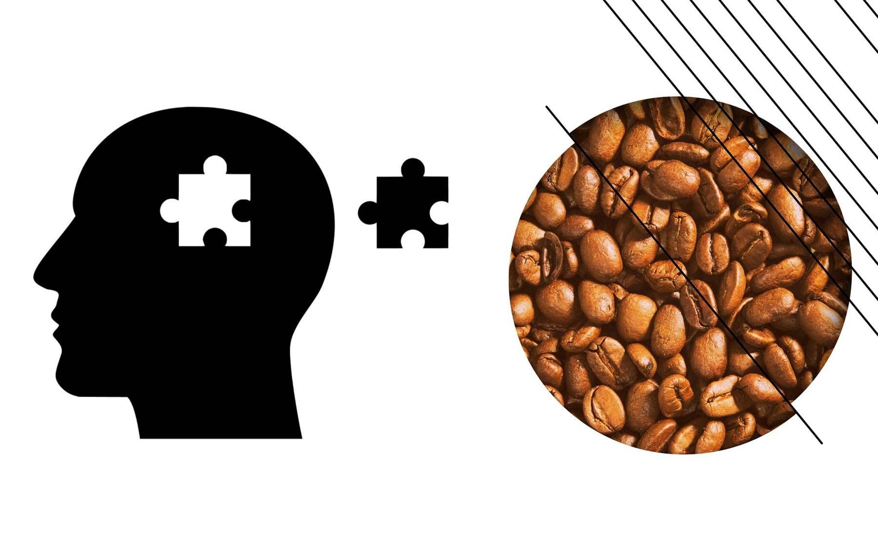 Photo of silhouette-brain-puzzle-coffee-quiz