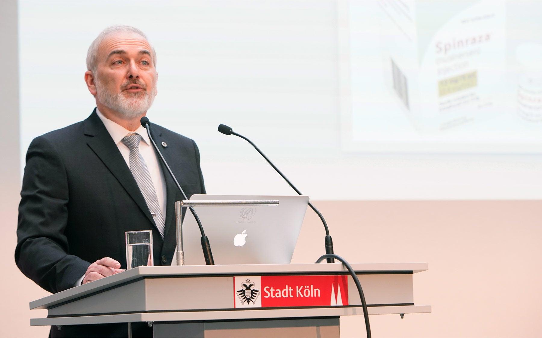 image of Zülch award winner Adrian Krainer