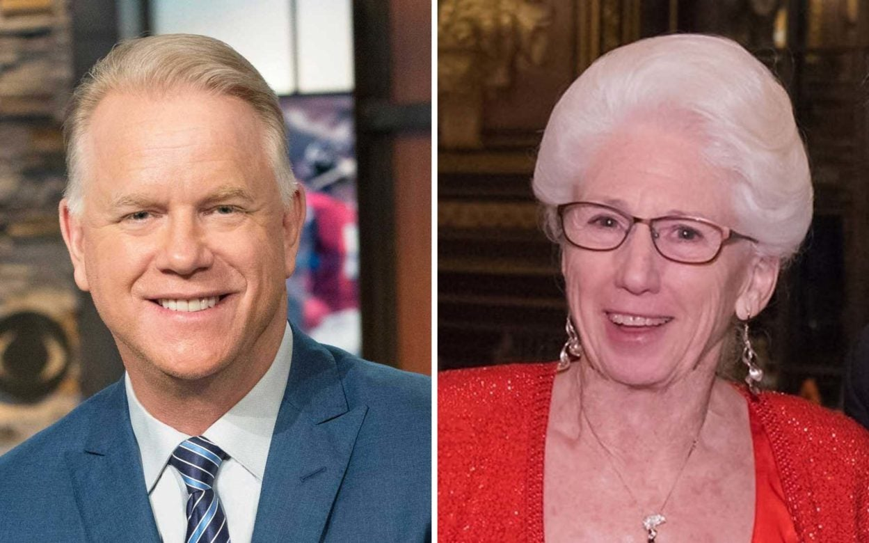 photo of DHMD honorees Boomer Esiason and Nancy Wexler