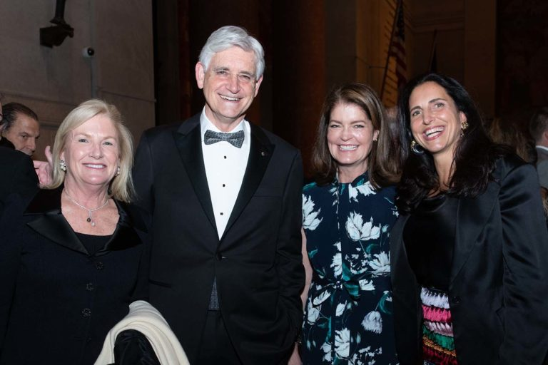 photo of Double Helix Medals Dinner 2019 - Lel Gimbel, Bruce Stillman, Elizabeth Ainslie, Alicia Scanlon