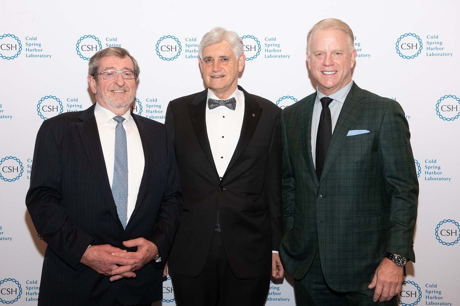 photo of Double Helix Medals Dinner 2019 - Boomer Esiason, Bruce Stillman, Michael Dowling