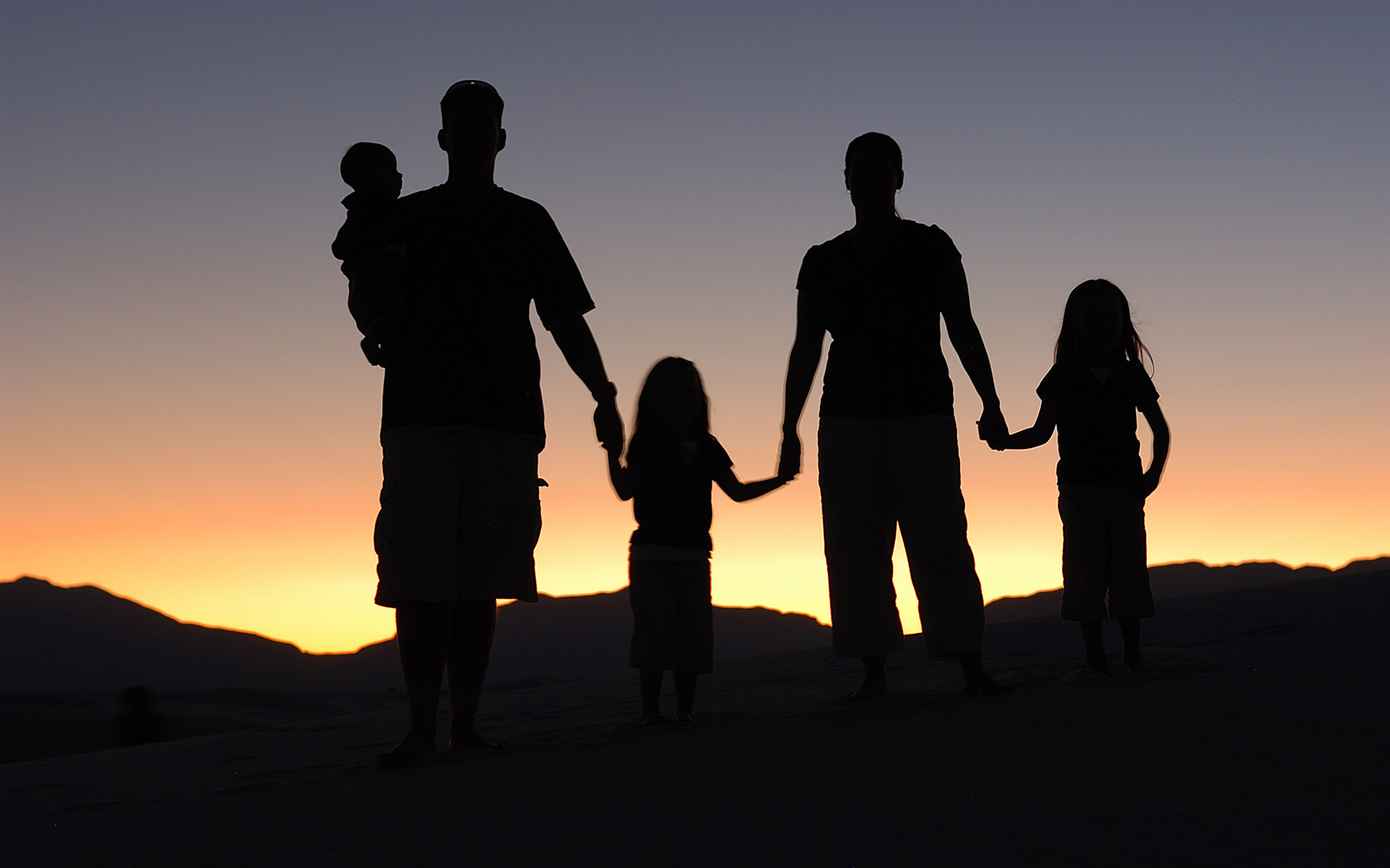 image of Family Portrait silhouette