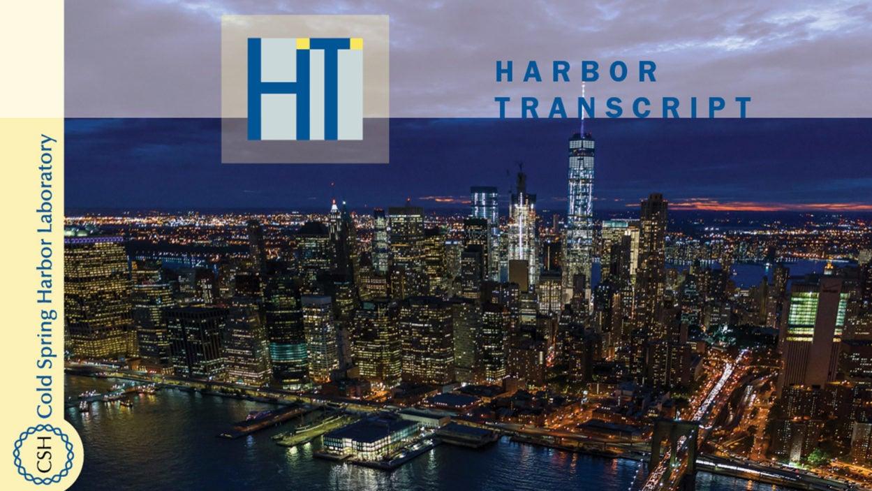 image of Harbor Transcript Winter 2019 cover