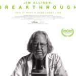 image of Jim Allison: Breakthrough movie poster, with film information and photo of Dr. Jim Allison