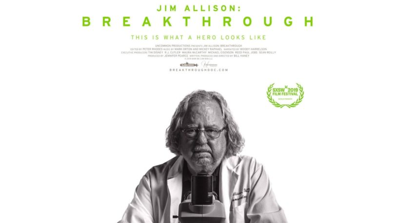 Documentary film: <em>Jim Allison: Breakthrough</em>