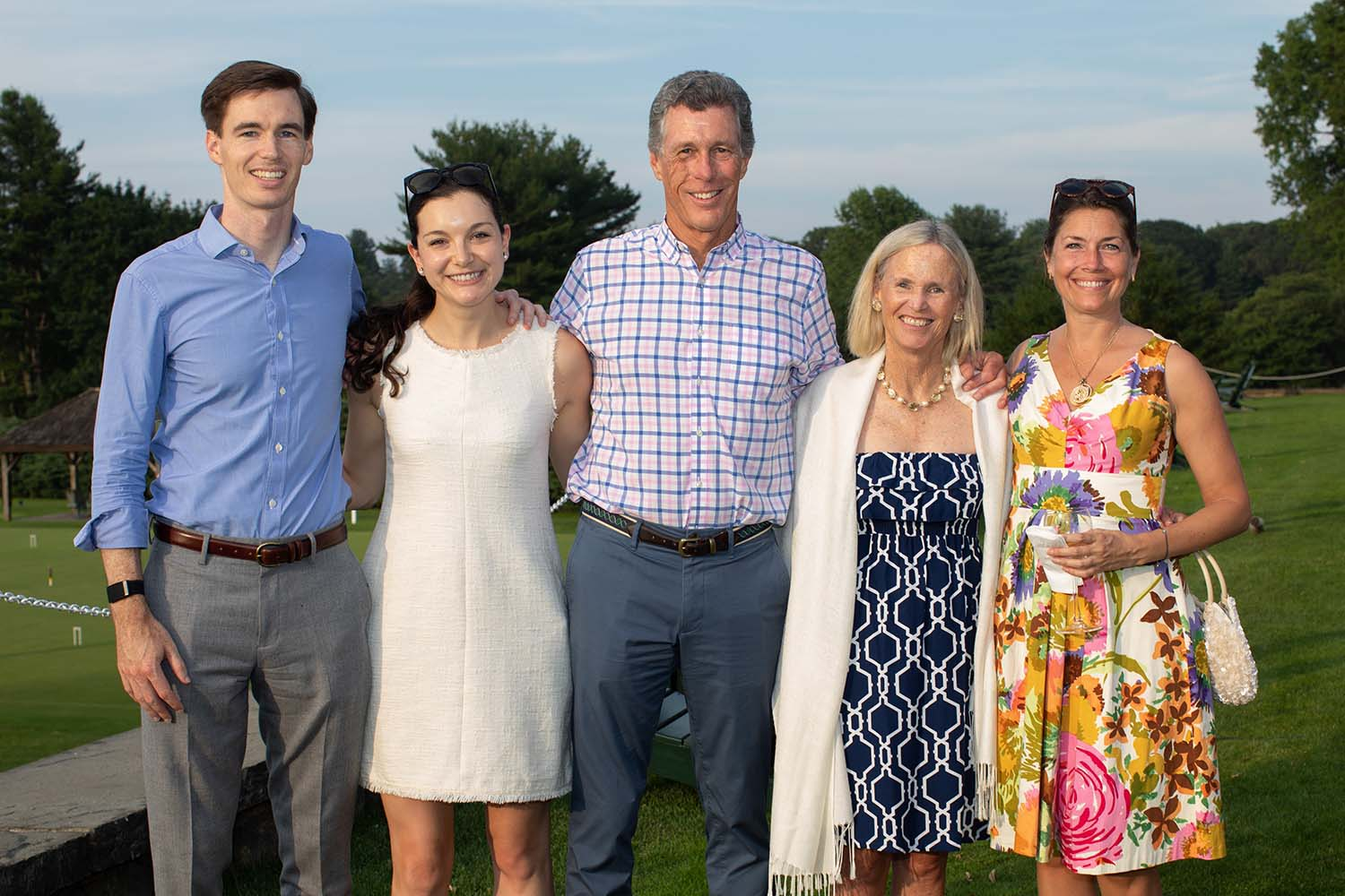 photo of Dill Ayres and Family at Golf Tournament 2019