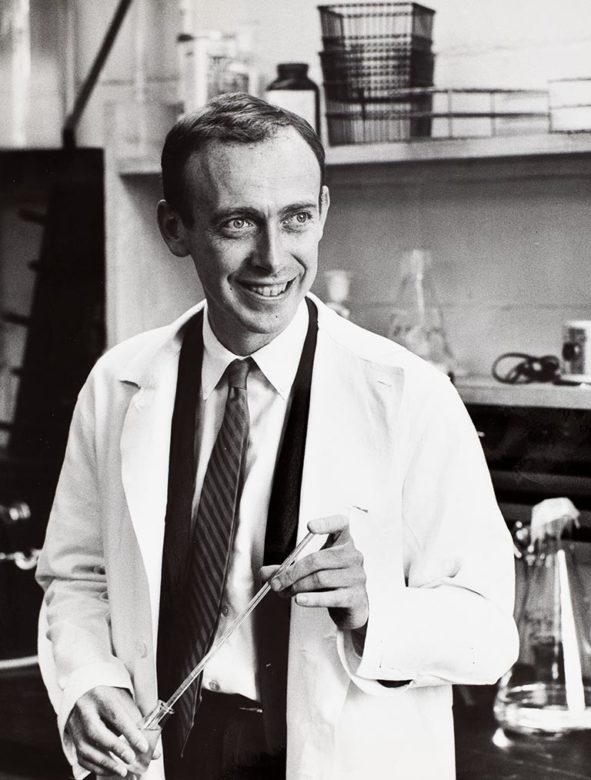 photo of Dr. James D. Watson, circa 1960s