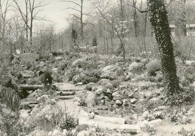 photo of ciw garden 1937