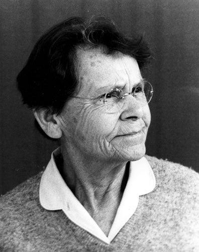 photo of Barbara McClintock