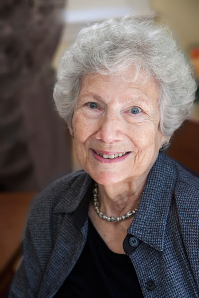 photo of Evelyn Witkin 2011