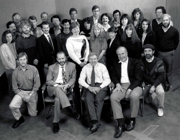 group photo of ICOS early scientists and administrators