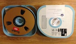photo of Type C Helical film reel