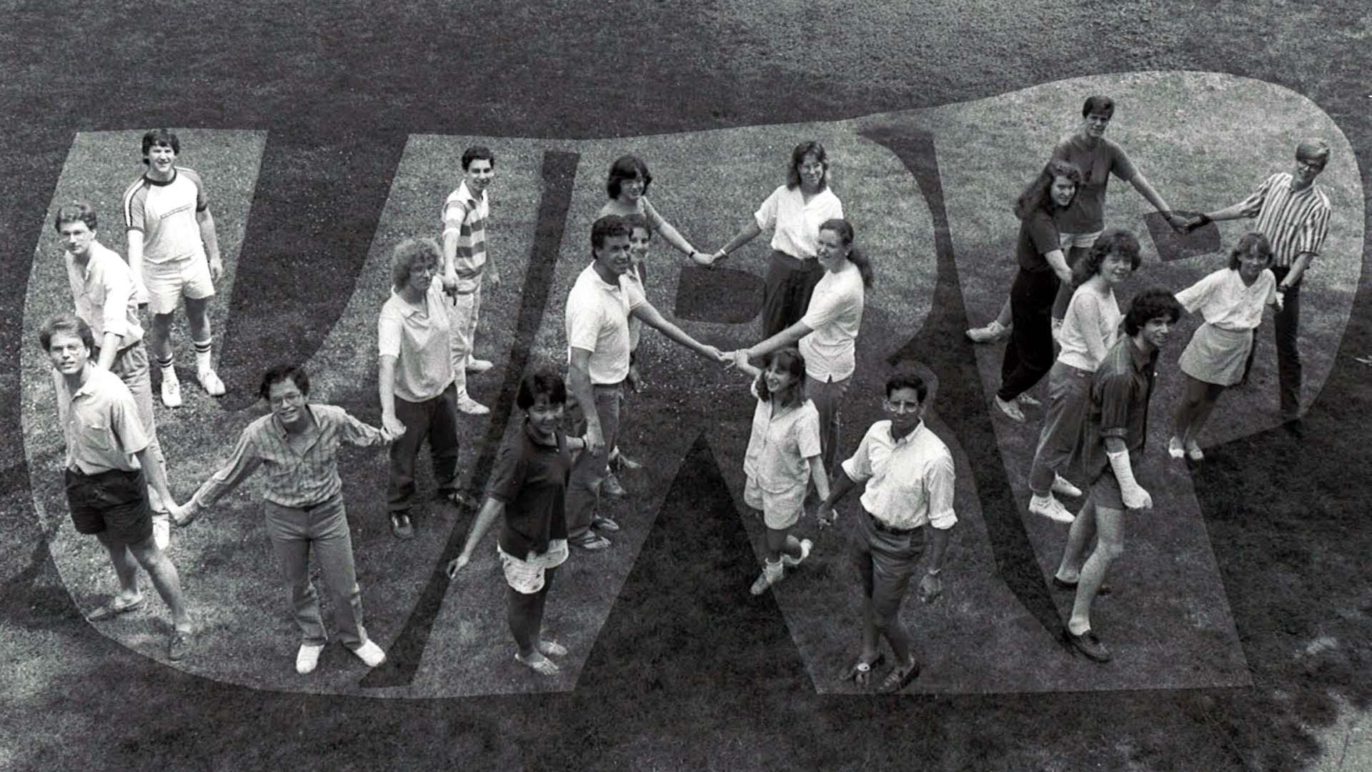 photo of URP students 1987
