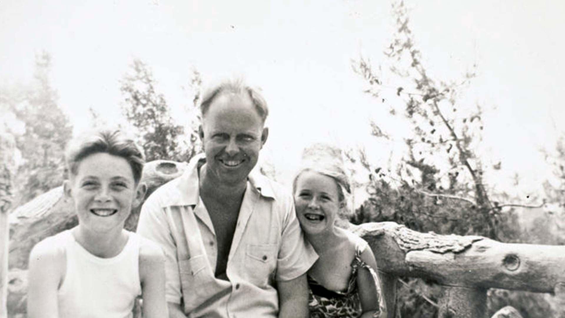 photo of Watson family 1939