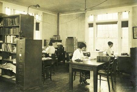 photo of eugenics archives 1921