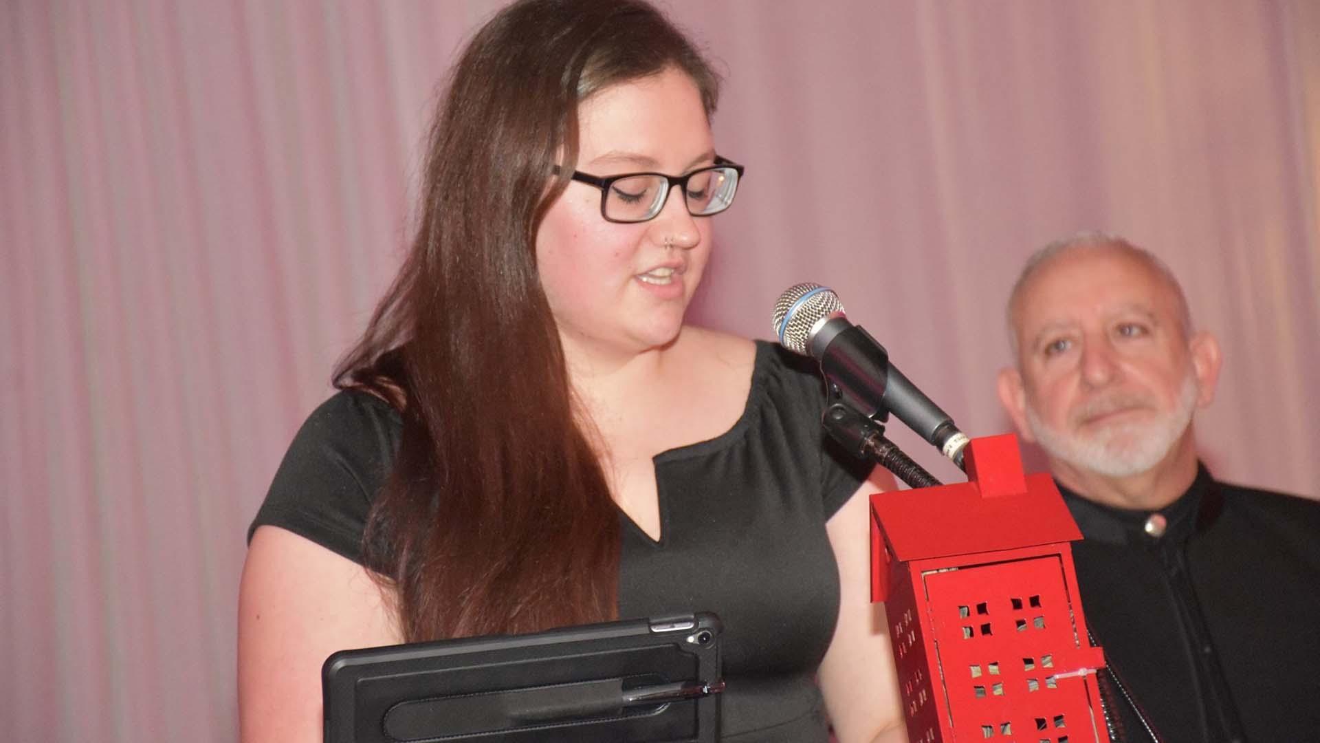 photo of Martyna Sroka from Christina Renna Foundation