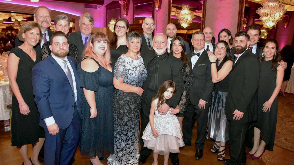photo of group at Christina Renna Foundation gala 2020