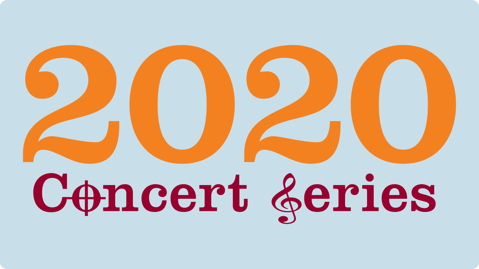 graphic of CSHL Concert Series 2020 logo