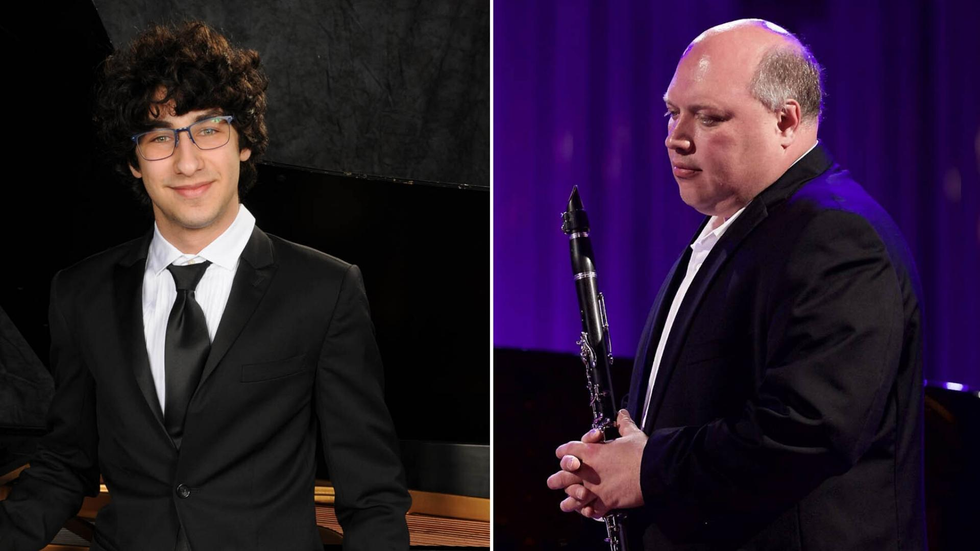 Maxim Lando, piano; Vadim Lando, clarinet