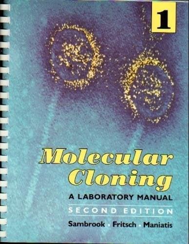 Cover Molecular Cloning