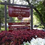 photo of CSHL entrance sign