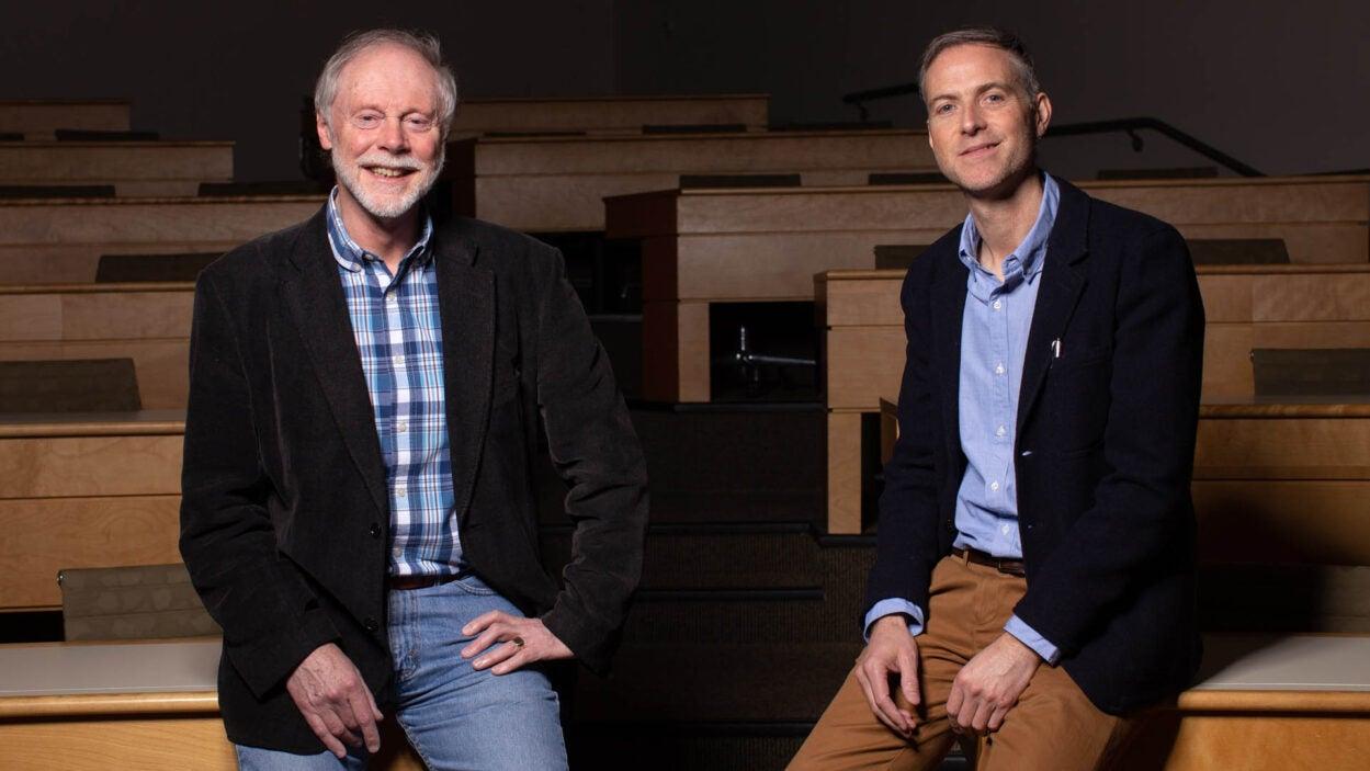photo of John Inglis and Richard Sever