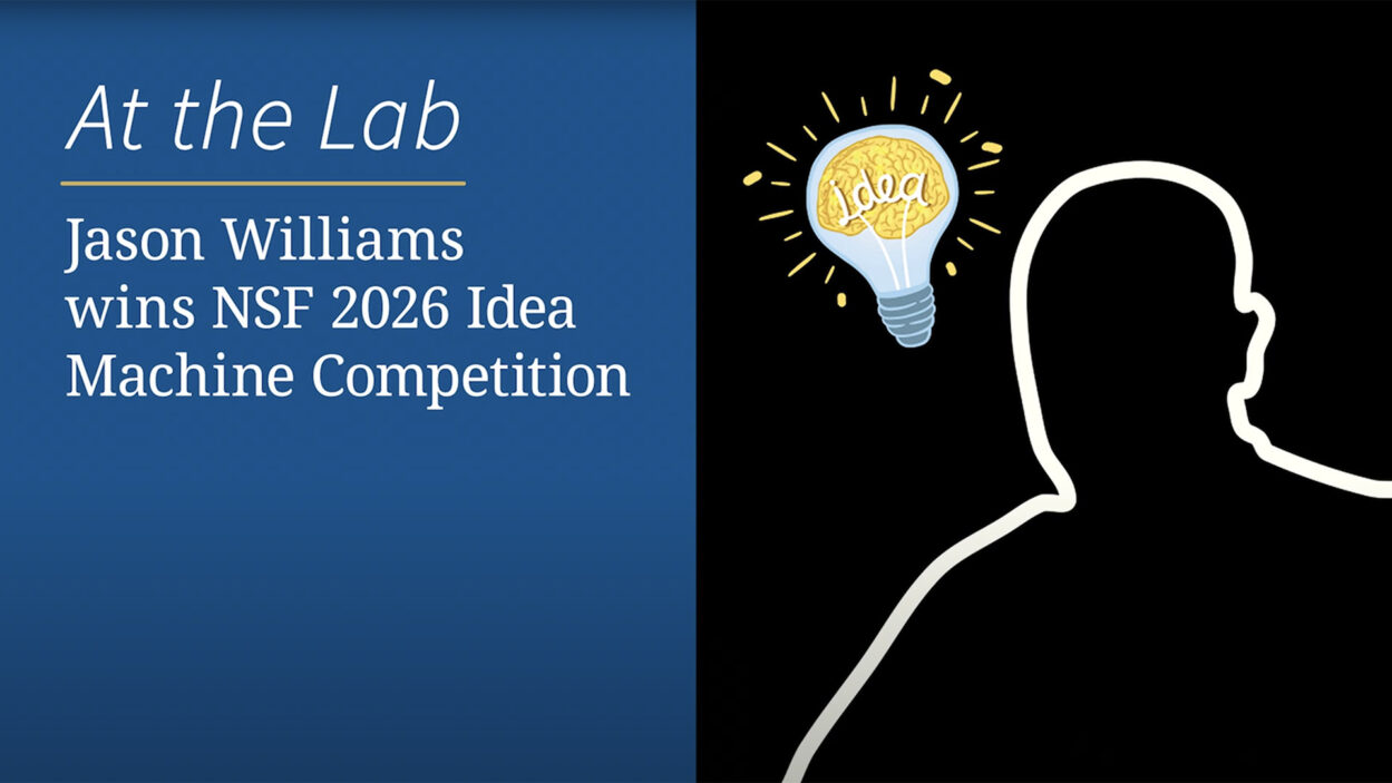 image of Jason Williams Idea Machine Competiton video
