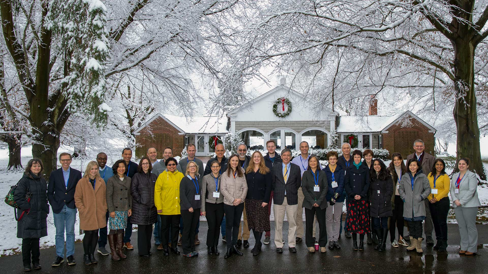 photo of attendees of the Banbury center nervious system in cancer meeting