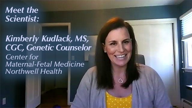DNALC Live: Meet the Scientist: Kimberly Kudlack, MS, CGC, Genetic Counselor at Northwell Health