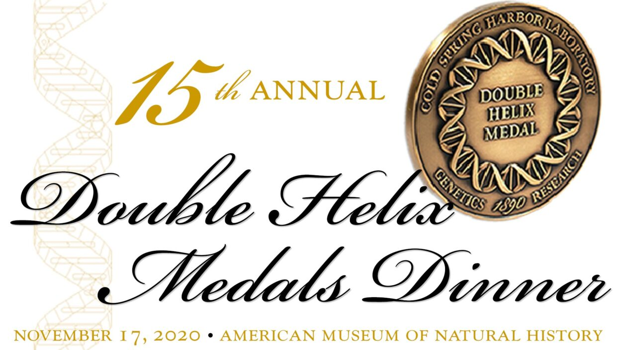 image of the 15th annual Double Helix Medals Dinner logo