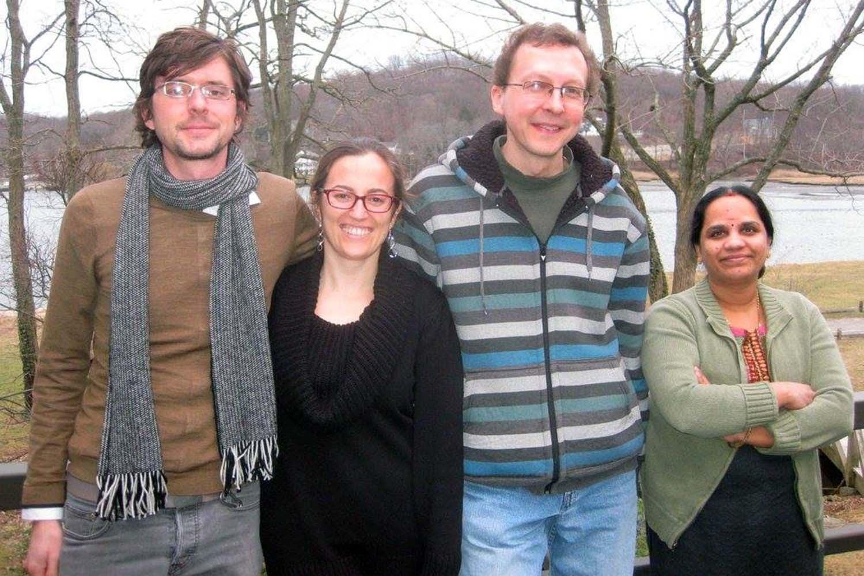 photo of Martienssen lab team