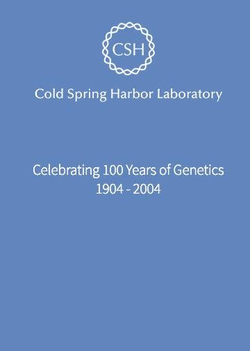 image of 100 Years of Genetics banner