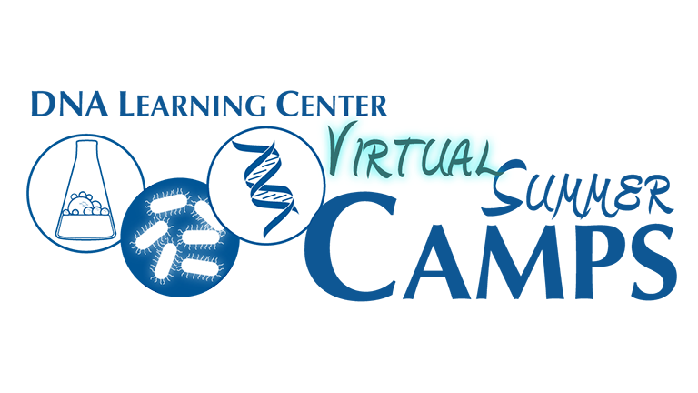 image of DNALC Virtual Summer Camps logo