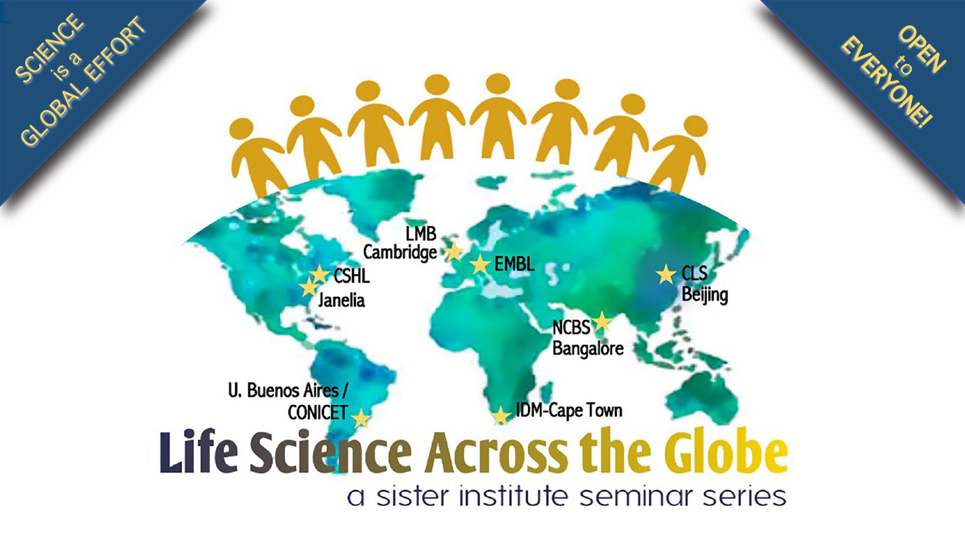 graphic of Life Sciences Across the Globe seminar