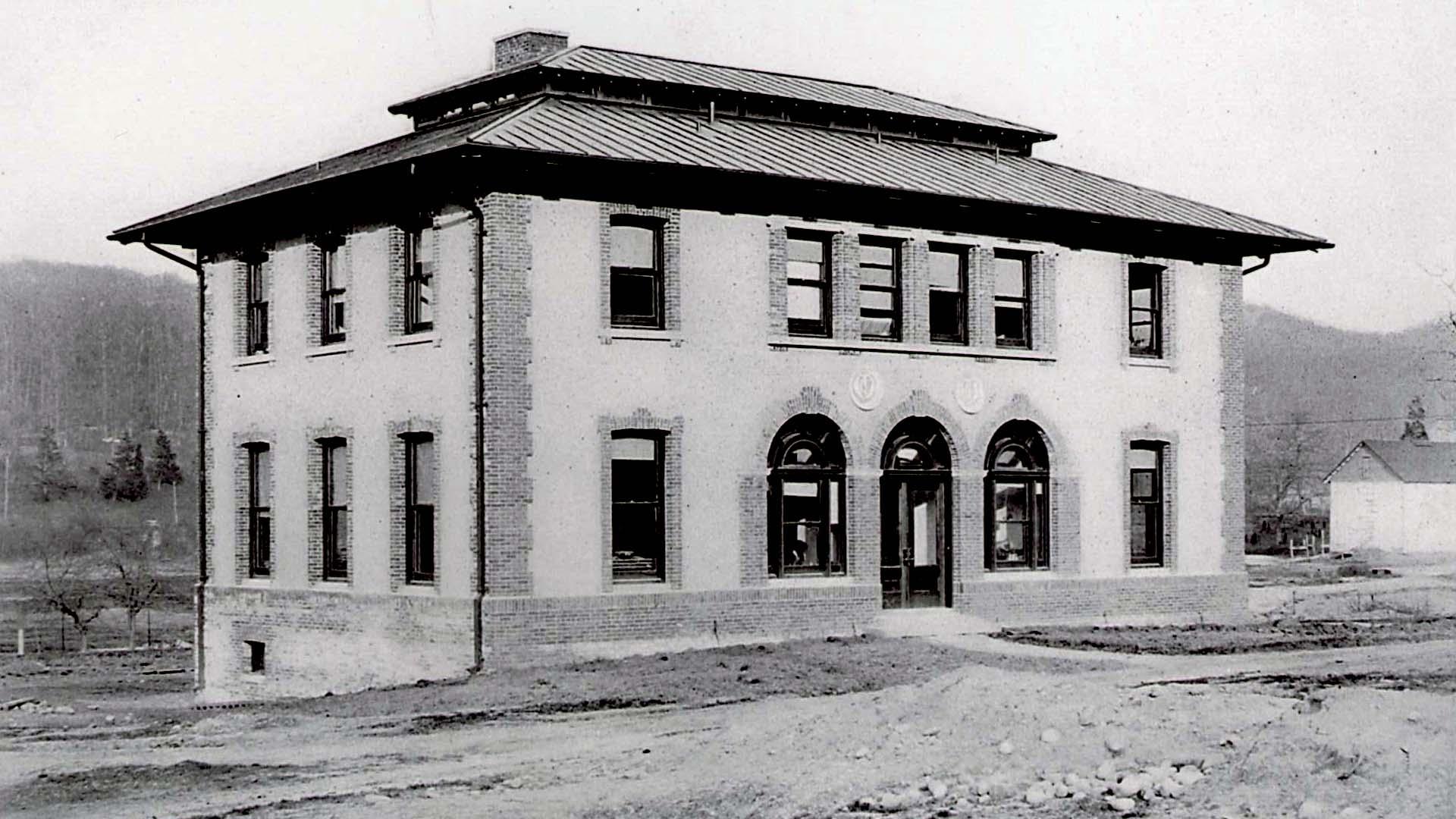 photo of Carnegie building in 1905